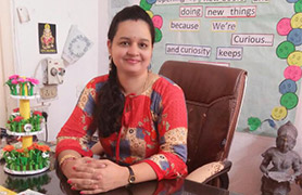 Principal of Pallavi Kidz DD Colony Branch
